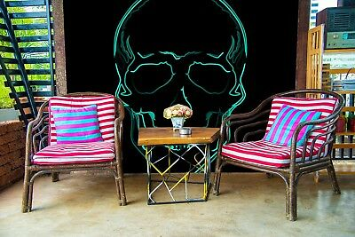 3d Cool Alien Skull 55 Wall Paper Wall Print Decal Wall Deco Indoor Mural Lemon