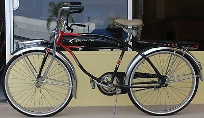 vintage western flyer bicycle 26 in. collectible men