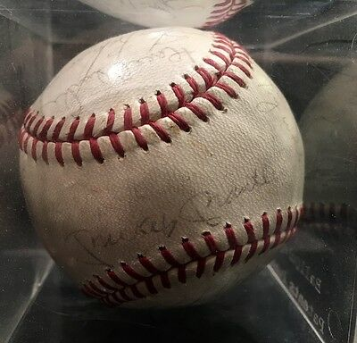 Signed, Rare Original 1967 Yankee