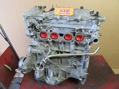 Engine Motor 2.5l 2arfe Vin F For 11-12 Scion Tc Car Cylinder Head Block Oil Pan