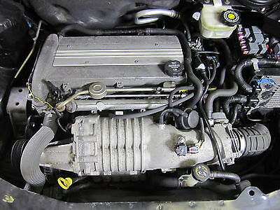 2.0l Engine Motor Vin P Supercharger Block Cylinder Head 04 Ion Redline Saturn