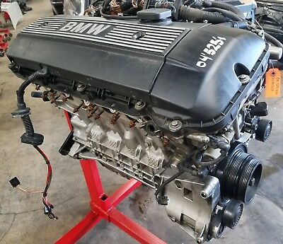 04 05 Bmw E60 525i Short Block Engine 2.5l Inline Six Motor
