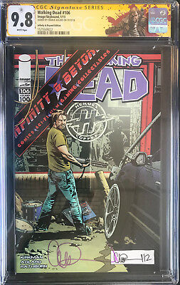 The Walking Dead #106 Exclusive Infinity & Beyond Cover Cgc 9.8 Signature Series