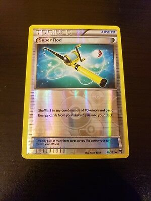 1x Super Rod Reverse Holo Foil 149/162 Pokemon XY BREAKthrough PTCG