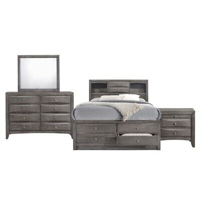 Picket House Furnishings Madison Full Storage 4 Piece Bedroom Set