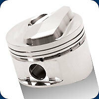 258207 Je Closed Chamber Pistons 409 Bb Chevy 4.155 Bore 12.5:1 Compression