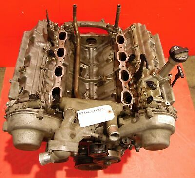 02-05 Lexus Sc430 Oem Engine Motor Long Block Assembly 4.3l