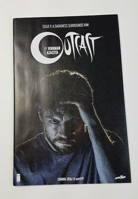 2015 Sdcc Outcast #1 Skybound 5th Anniversary Edition Comic Book Nm Rob Kirkman