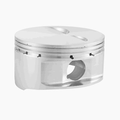 Bc1021-std Cp Bullet Series Pistons Small Block Chevy Flat Top 4.000 3.480 5.700