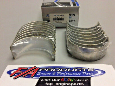 Acl 8b743a-std Big Block Chevy 396 454 Aluglide Connecting Rod Bearing Set Of 8