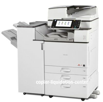 Ricoh Mpc4503 Mp C4503 Color Copier, Printer, Scan, 45 Ppm - Very Low Meter