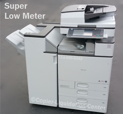 Ricoh Mp C4503, Mpc4503 Color Copier Print Scan 45 Ppm - Very Low Meter Fz