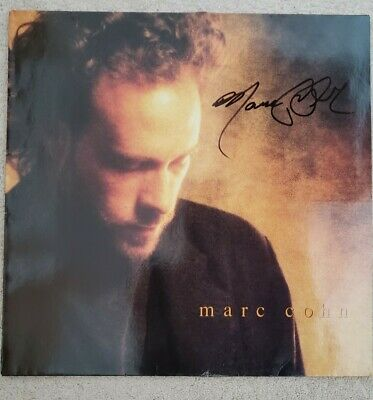Marc Cohn Signed Auto Walking In Memphis Lp Vinyl Record One Of A Kind!  Proof