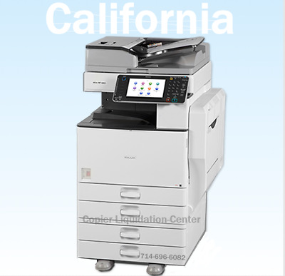 Ricoh Mpc5502,mp C5502 Color Copier, Printer, Scan, 55ppm, Very Low Meter .