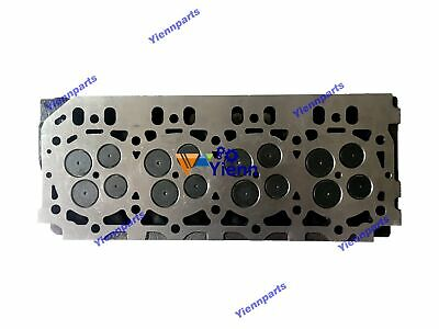 4tnv98 4tnv98t Cylinder Head Assy For Yanmar Engine Complete With Valve Spring