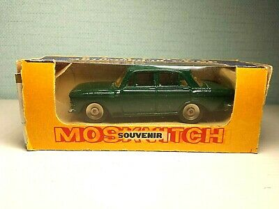 Very Rare Moskvitch 412 71 A1 1:43 Original Souvenir Made In Ussr