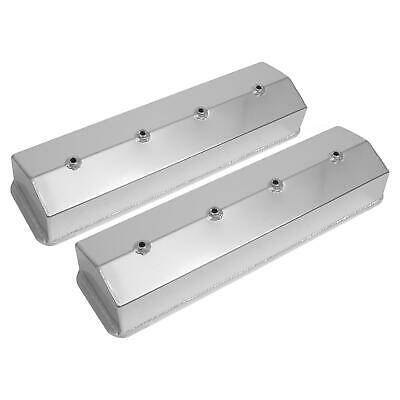 Summit Racing Fabricated Valve Covers 440605 Chevy Sbc 283 305 350 400