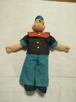 Vtg King Features Uneeda Popeye Doll 1979