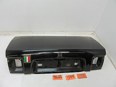 Fits 00 01 02 Lincoln Ls Trunk Deck Lid Rear Back Painted Oe Oem Used Black Car