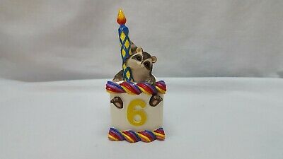 "Charming Tails 6 Year Old Birthday Cake Slice Titled ""reginald"" Selling As Is"