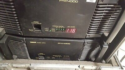 Yamaha Pm 4000 48 Channel Console Very Good Condition
