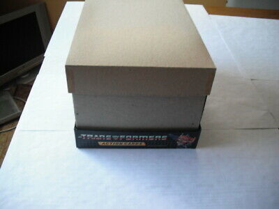 1985 Hasbro Transformers Complete Box Of 96 Blister Card Packs Of Trading Cards