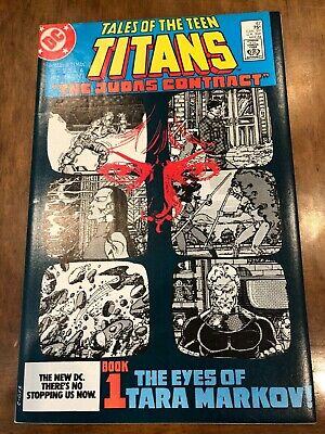 Dc Comic Books Tales Of The Teen Titans Issues 42-44 & Annual 3 (1984) Nightwing