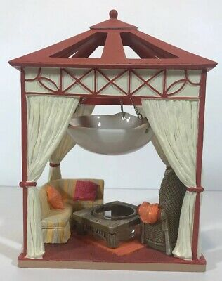 Yankee Candle Tart Wax Melt Warmer Burner Tea Light Candle Holder Garden Gazebo