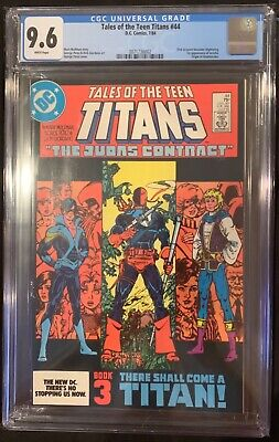 (1984) Tales Of The New Teen Titans #44 Cgc 9.6! 1st Nightwing! Wp!