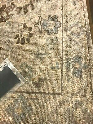 Pottery Barn Maeko Hand Knotted 5x8 Rug Ivory  New Sold Out Online
