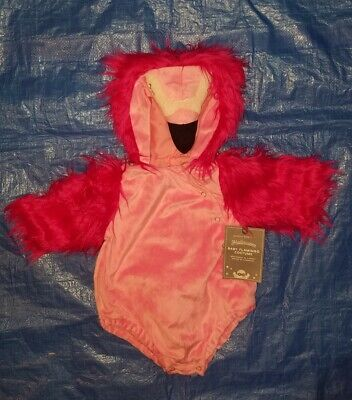 Nwt Sold Out 2019 Pottery Barn Kids Pink Baby Flamingo Costume 12-24 Months