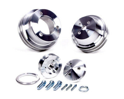 March Performance 289-351 Fits Ford 3pc Pulley Set 1565