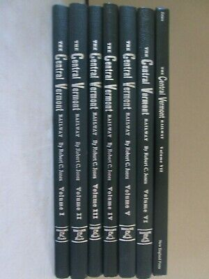 The Central Vermont Railway - A Yankee Tradition - 7 Volume Complete Set