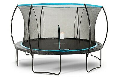 Skybound Cirrus 14ft Standard Trampoline W/ Safety Enclosure Net - Rated 220lbs