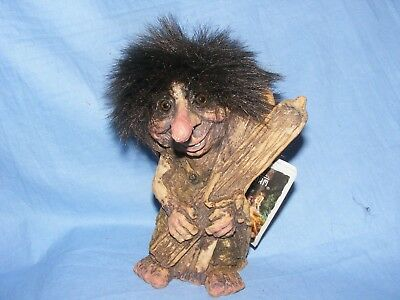 Ny Form Nyform Troll With Skis Skiing Norway Collectable Norwegian T311