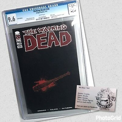 Walking Dead Comic #100 Lucille Cgc 9.6 Very Rare Unsigned Retailer Variant