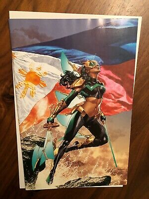 War Of The Realms: New Agents Of Atlas #1  Suayan Virgin Variant Comic Odyssey