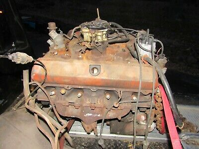 Olds 425 Engine Big Block  Oldsmobile 425 Bored Out 400 Olds Cutlass 442 Rat Rod