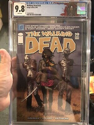 Walking Dead #19 Cgc 9.8 1st Appearence Michonne.  1st Print!!  Must Have!!