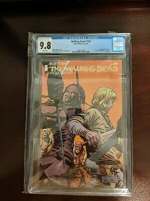 The Walking Dead  154. Cgc 9.8 With White Pages. 1st App. Beta