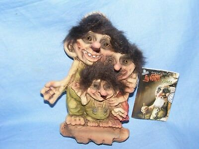 Ny Form Nyform Troll Family Hanging Sign Norway Collectable Norwegian T089