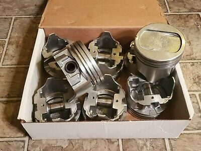 New Ford 351 Windsor .040 Over Piston Set Cast 351w Small Block Sbf