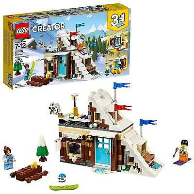 Lego® Creator Modular Winter Vacation (31080) Priority Mail Shipping