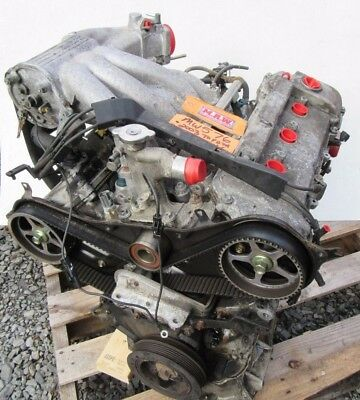 Toyota Solara 3.0l Engine Motor Vin F 5th 1mzfe At V6 Cylinder Head Car Block