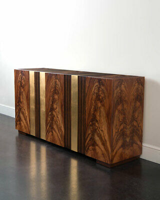 John-richard Collection Stanley Console Frank Lloyd Wright-inspired Horchow
