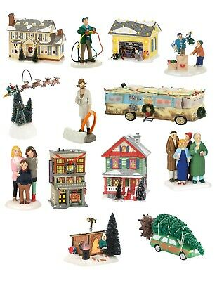 Dept 56 Christmas Vacation Griswold House, Garage, Rv, Bethany