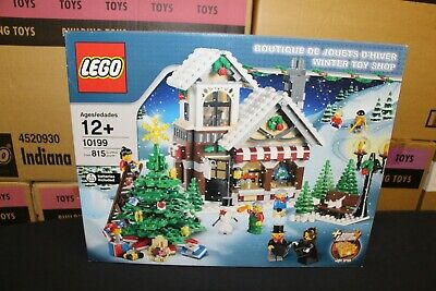 New Sealed Box! Lego 10199 Creator Christmas Winter Toy Shop Free Priority Mail!