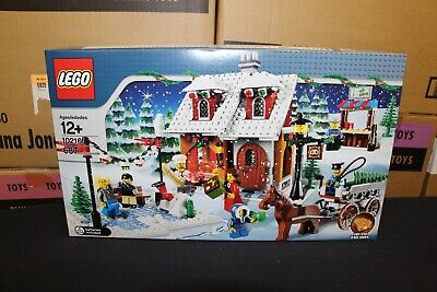 New Sealed Box! Lego 10216 Christmas Winter Village Bakery Free Priority Mail!
