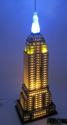 Dept. 56 Empire State Building Christmas In The City 59207 3 Color Light