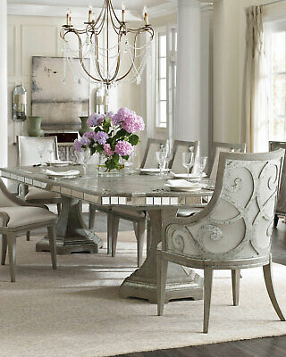 Juliet Arm Chair Pair Grey Metallic Hardwood And Polyester Horchow Neiman Marcus